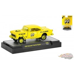 1955 Chevy Bel Air Gasser Mooneyes Equipped - M2 Machine CHASE CAR 1:64 - 31600 GS08GR