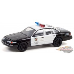 1992 Ford Crown Victoria Police Interceptor (LAPD) - Drive (2011) - Hollywood 33 - 1/64 Greenlight - 44930 D
