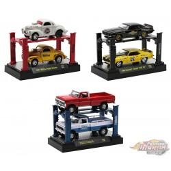 Auto-Lift Release 20 - 3  Pcs Assortment  - M2 Machine  1:64 - 33000-20 -  Passion Diecast