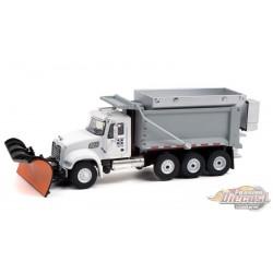 2019 Mack Granite Dump Truck with Snow Plow and Salt Spreader -  SD Trucks 13 - Greenlight  1/64 - 45130 C
