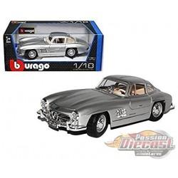 1954 Mercedes-Benz 300 SL Touring Silver - Burago 1:/18 - 18-12047SIL