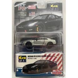 Nissan GT-R R35 Nismo Black - Era Car  1/64 - USA  Exclusives CHASE CAR - ESPMJ001GR