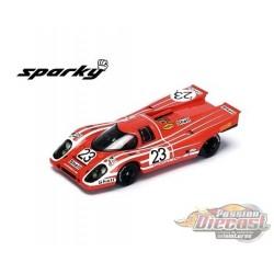 Porsche 917 K No. 23 24H Le Mans Winner 1970 Red -  SPARKY 1/64 - Y146B