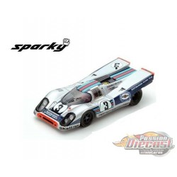 Porsche 917 K No. 3 Winner Sebring 12H 1971 -  SPARKY 1/64 - Y147B - Passion Diecast