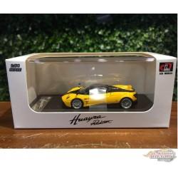 2017 Pagani Huayra Roadster - Yellow - LCD Models 1:64 - 64015 YE - Passion Diecast