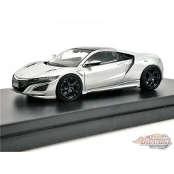 Honda NSX - Silver - LCD Models 1:64 - 64004 SI - Passion Diecast