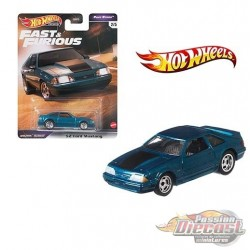 Fast & Furious 1992 Ford Mustang - Hot Wheels 1:64 - GRL72 - Passion Diecast