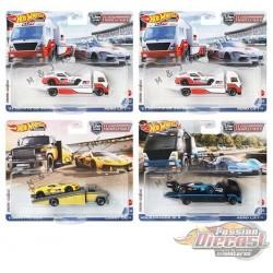 Team Transport N Case  2021 Set of 4 - Hot Wheels 1/64  -  FLF56-956N  -  Passion Diecast