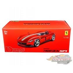 Ferrari Monza SP1 (Red) - Signature Series Bburago - 1/18 - 18-16909 -  Passion Diecast
