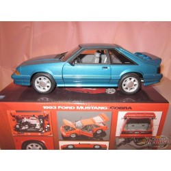 1993 Ford Mustang Cobra   Teal - GMP 1/18 G1801815  used