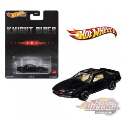 Retro Entertainment - KITT KNIGHT RIDER Pontiac Trans Am - Hot Wheels 1:64 - GRL67 - Passion Diecast