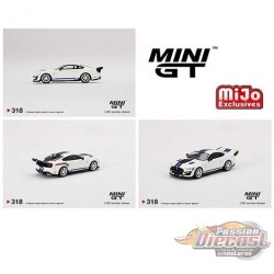 Mini GT - 1:64 - Shelby GT500 Dragon Snake Concept Oxford White - Mijo Exclusives USA  -  MGT00318  Passion Diecast