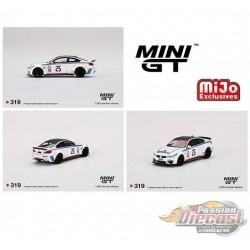Mini GT - 1:64 - LB★WORKS BMW M4 IMSA  - Mijo Exclusives USA  - MGT00319  Passion Diecast