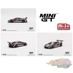 Mini GT - 1:64 - Chevy Corvette C8.R No.4 2021 IMSA Sebring 12 Hrs  - Mijo Exclusives USA  - MGT00316  Passion Diecast