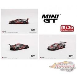 Mini GT - 1:64 - Chevy Corvette C8.R No.3 2021 IMSA Sebring 12 Hrs  - Mijo Exclusives USA  - MGT00315  Passion Diecast