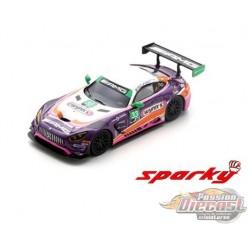 Mercedes-AMG GT3 No.33 24H Daytona 2019 -  SPARKY 1/64 - Y185B - Passion Diecast