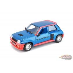 Renault 5 Turbo - Bburago 1-24 - 21088 BL - Passion Diecast
