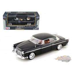 Chrysler C300 1955 - Motormax 1-24 - 73302 BLK - Passion Diecast