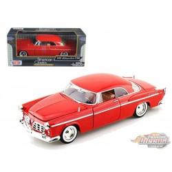 Chrysler C300 1955 - Motormax 1-24 - 73302 RED - Passion Diecast