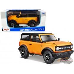 2021 Ford Bronco Badlands (Orange)  - Maisto 1/24 - 31530 OR -  Passion Diecast