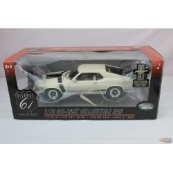 1970 Ford Mustang Boss 302   White  - Highway 61   1/18 -  50275   used