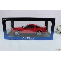2005 Ford Mustang GT 500 concept red - Autoart  1/18 -  73051  Used