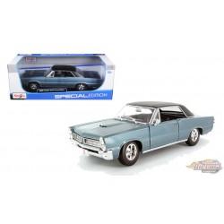 Pontiac GTO Hurst Ed. 1965 Blue - Maisto 1/18 - 31885 BL - Passion Diecast