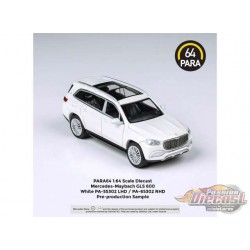Mercedes-Maybach GLS White -  Para64  - PA-55302 - Passion Diecast
