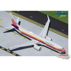 """Boeing 737-800 / American Airlines """"AirCal Heritage"""" N917NN / Gemini 1:200 G2AAL474"""