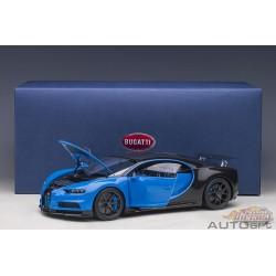 Bugatti Chiron Sport - French Racing Blue/Carbon -  Autoart - 70997 Passion Diecast