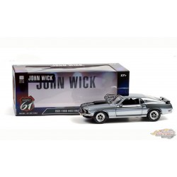 Ford Mustang BOSS 429 1969 - John Wick  Chrome 1/18 HWY 61  18031 Passion Diecast
