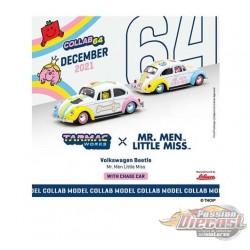 Volkswagen Beetle Mr. Men & Little Miss - Tarmac Works & Schuco - 1/64 - T64S-006-MMLM - Passion Diecast