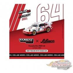 Porsche 911 RSR 3.8 Le Man 1994 No,52 - Tarmac Works & Schuco - 1/64 - T64S-003-94LM - Passion Diecast