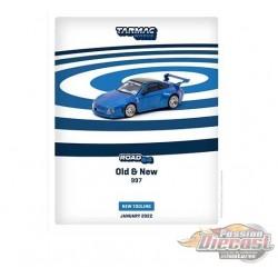 Old & New 997 Blue Metallic - Tarmac Works - 1/64 - T64-TL053-BLM - Passion Diecast