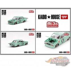 Mijo Exclusive KaidoHouse Datsun 510 Pro Street SK510  - Mini GT - Mijo Exclusives 1/64 - KHMG008 - Passion Diecast