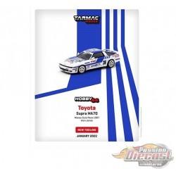 Toyota Supra MA70 Macau Guia Race 1987 Alan Jones - Tarmac Works - 1/64 - T64-064-87MGP36 - Passion Diecast