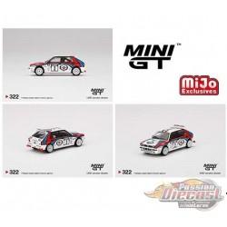 Mini GT - 1:64 - Lancia Delta HF Integrale Evoluzione 1992 Rally 1000 Lakes Winner No.3 - Mijo Exclusives USA - MGT00322