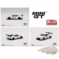 Mini GT - 1:64 - Nissan GT-R NISMO GT3 2018 Presentation - Mijo Exclusives USA -  MGT00327  Passion Diecast