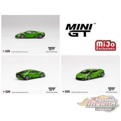 Mini GT - 1:64 - Lamborghini Huracán EVO Verde Mantis - Mijo Exclusives USA -  MGT00328  Passion Diecast