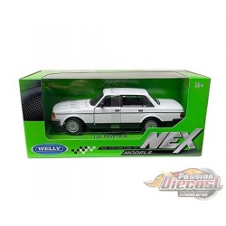 Volvo 240GL White - Welly 1/24 - 24102W WH - Passion Diecast
