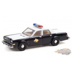 Texas Department of Public Safety - 1981 Dodge Diplomat - Hobby Exclusive - 1/64 Greenlight - 30303  Passion Diecast