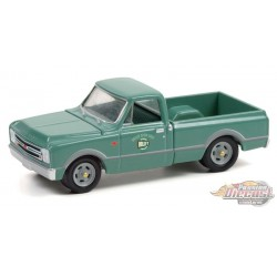 Holley Speed Shop - 1967 Chevrolet C-10 Short Bed - Hobby Exclusive - 1/64 Greenlight - 30307  Passion Diecast