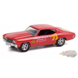 Doc Mayner's 1972 Chevrolet Chevelle No.71 - Hobby Exclusive - 1/64 Greenlight - 30315  Passion Diecast
