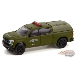Chevrolet Silverado LT Trail Boss Z71 Police (GOPE)  - Hobby Exclusive - 1/64 Greenlight - 30318  Passion Diecast