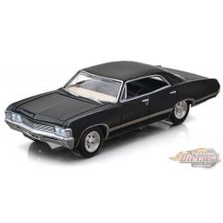 1967 Chevrolet Impala Sport Sedan in Tuxedo Black - Hobby Exclusive - 1/64 Greenlight - 30333  Passion Diecast