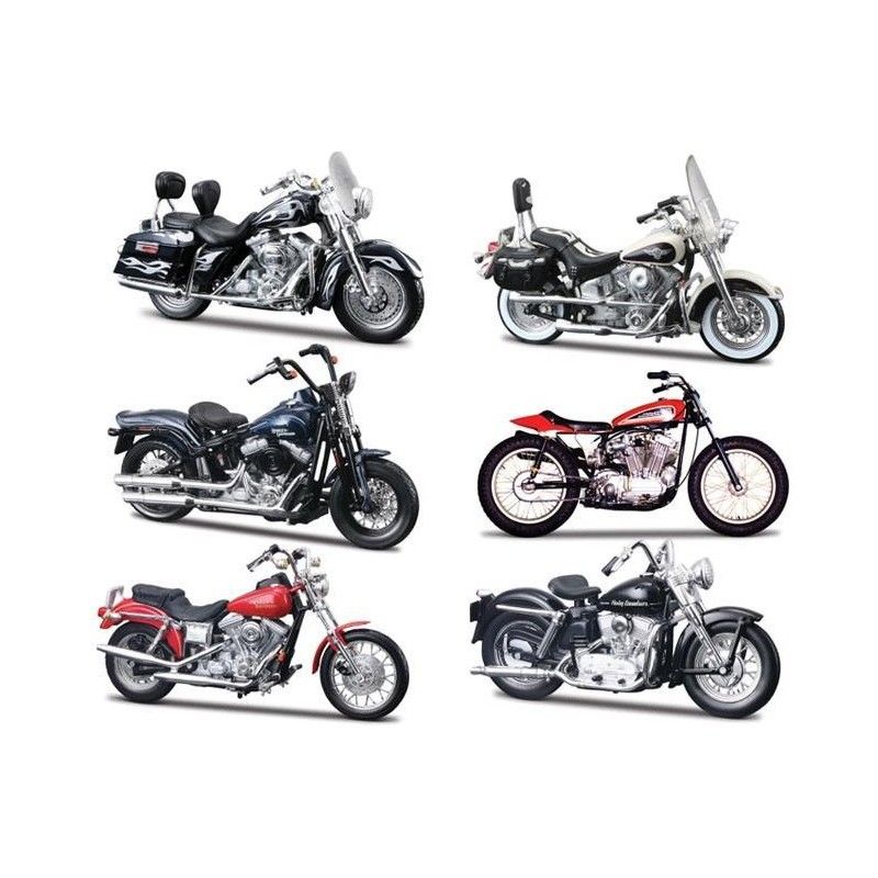 harley davidson series 30 passion diecast. Black Bedroom Furniture Sets. Home Design Ideas