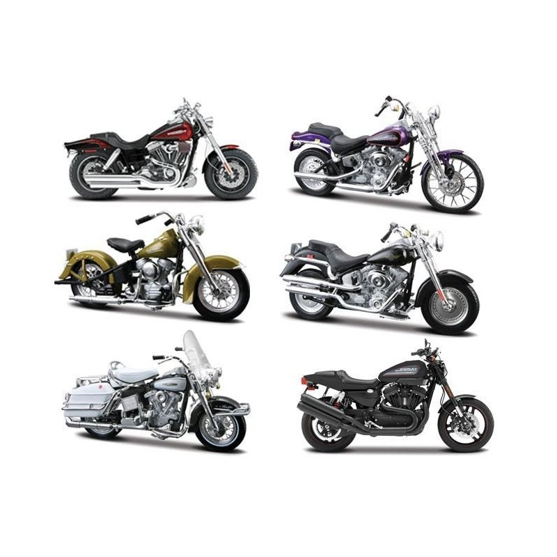 harley davidson series 29 passion diecast. Black Bedroom Furniture Sets. Home Design Ideas