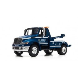 2013 International Durastar 4400 (NYPD Tow Truck) - Blue & White