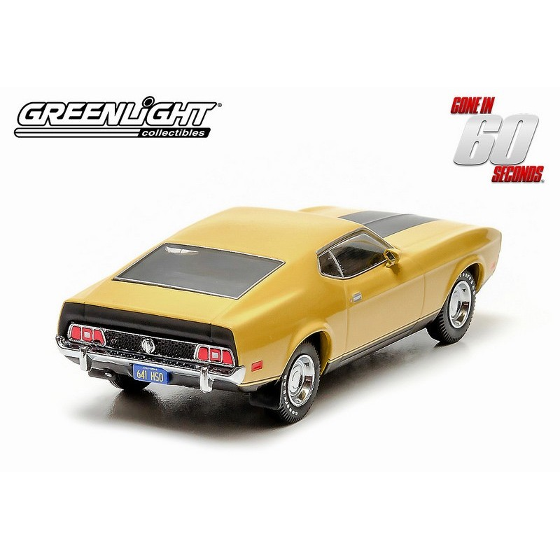 1973 Ford Mustang Mach 1 Quot Eleanor Quot Gone In Sixty Seconds