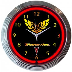 Horloge neon Pontiac Trans Am